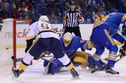 NHL: Nashville Predators at St. Louis Blues