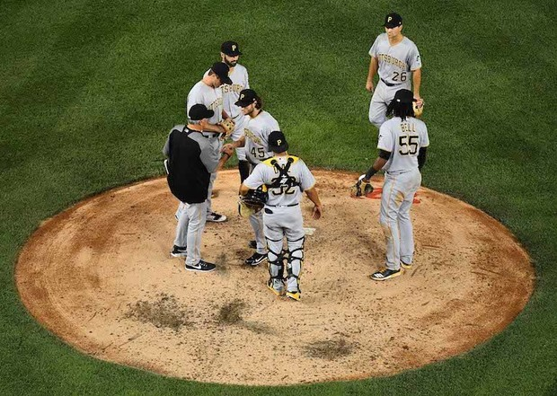 MLB: Pittsburgh Pirates at Washington Nationals