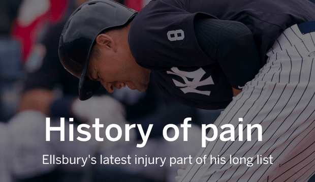 Image result for JACOBY ELLSBURY INJURY HISTORY LIST