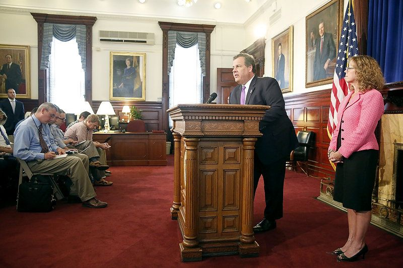 Christie boasts N J  Medicaid expansion success under