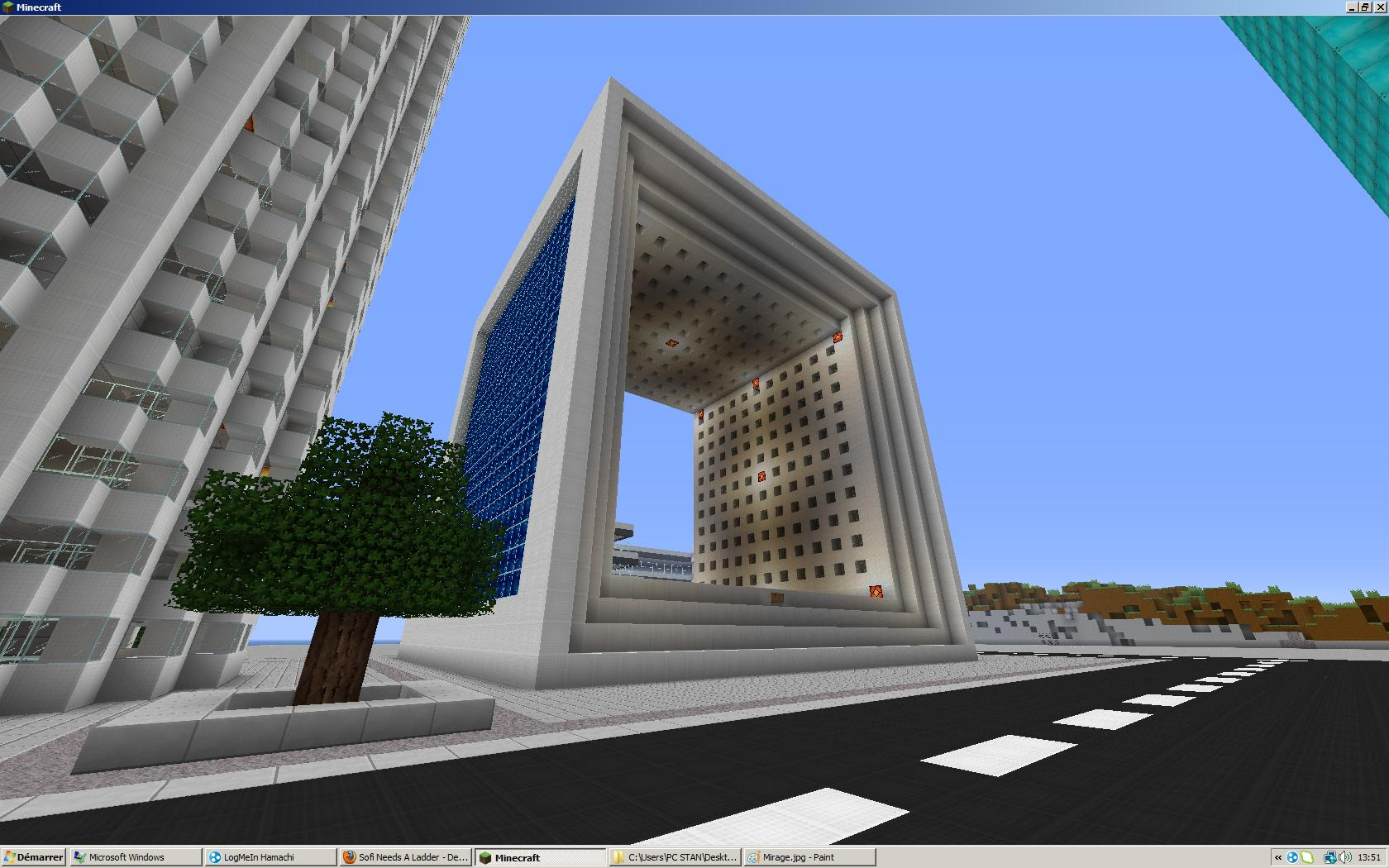 Batiment Futuriste Minecraft Great Maison Minecraft Avec