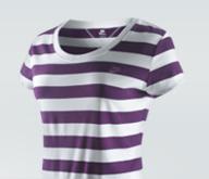 Nike Essential Stripe Short-Sleeve Top