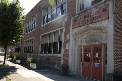 A former student at Martin Luther King Jr. School, a pre-K-8 school in Northeast Portland, claims that a substitute teacher assaulted him and made racially derogatory comments toward him.