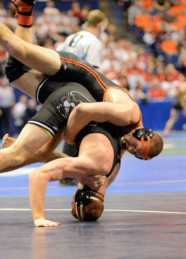 OSUs Latham Meeks Advance To Quarterfinals At NCAA Wrestling Championships