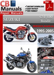 Suzuki Bandit GSF 600 19992000 Service Repair Manual   Technical Repair Manuals