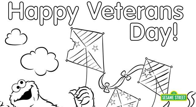 Veterans Day Printables  Sesame Street  PBS LearningMedia