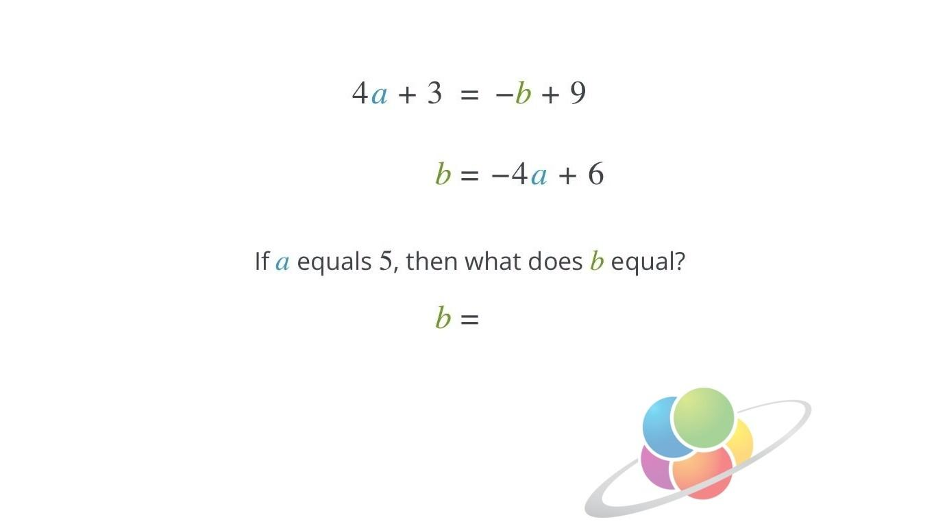 Multi Variable Equations