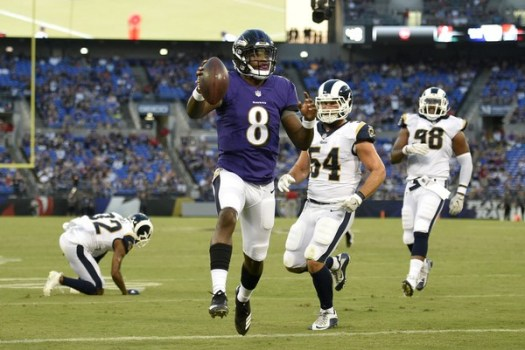 Lamar Jackson's juke move highlights Baltimore Ravens' big ...