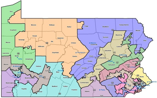 State lawmakers are scrambling to replace Pennsylvania's now-unconstitutional Congressional map.