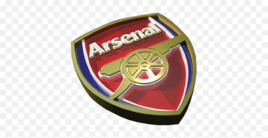free arsenal 3d logo psd vector graphic