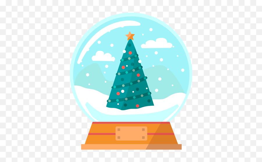 1043 Christmas Snow Globe Svg