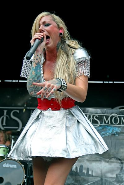 Pollstar Maria Brink Of In This Moment