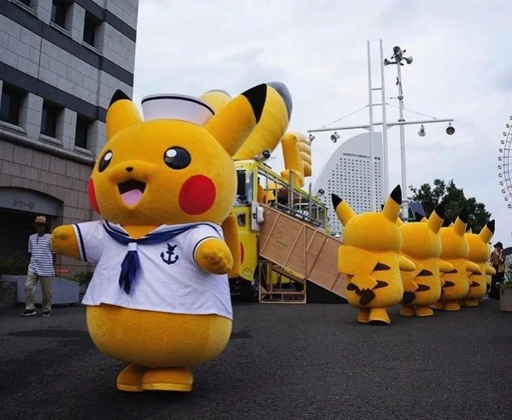 比卡超大量出現!!今個夏天將有2000隻比卡超出現喺橫濱街頭! | HolidaySmart 假期日常