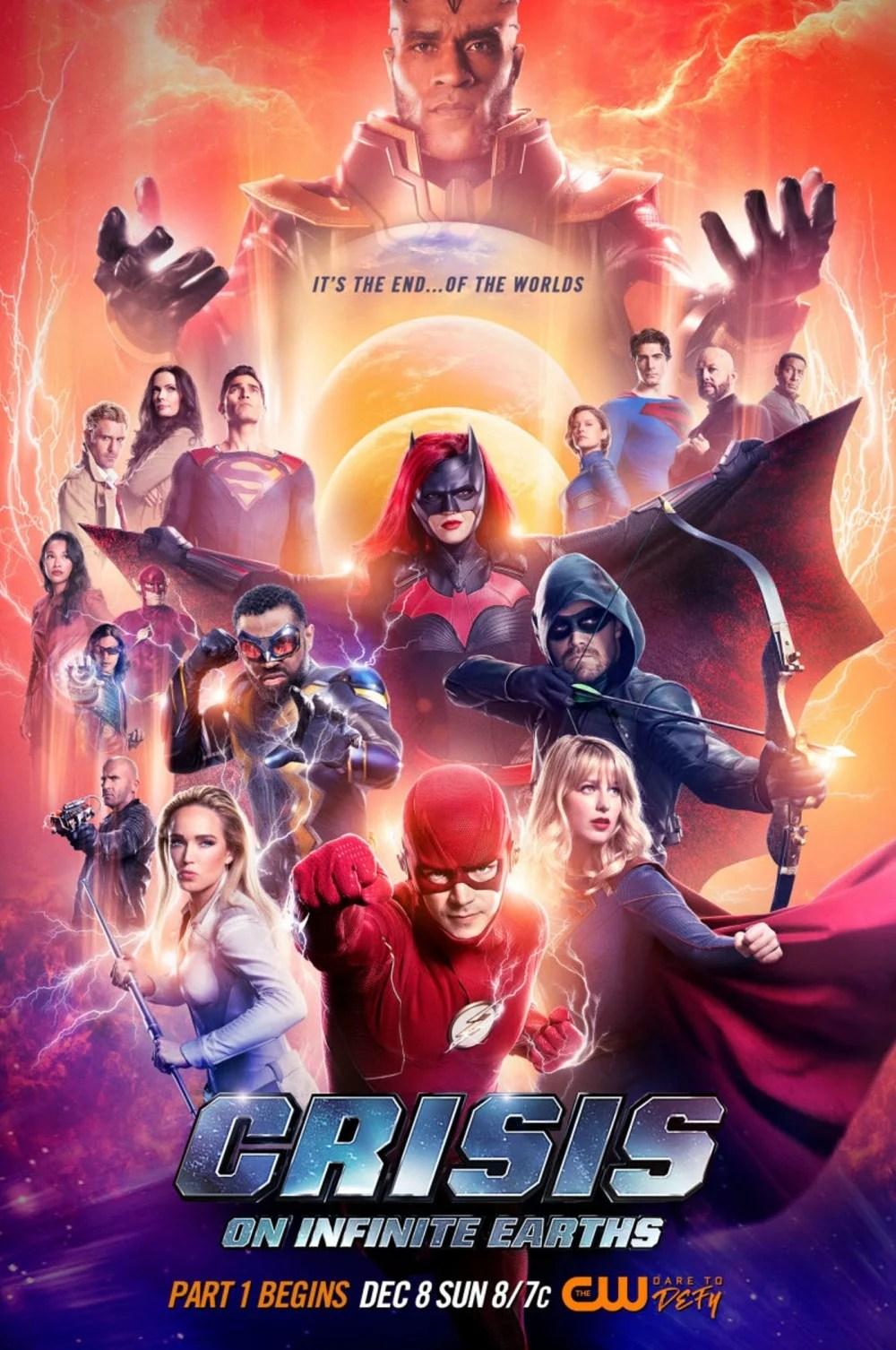 【《Crisis on Infinite Earths》聯動】完全版的DC「正義聯盟」!《Crisis on Infinite Earths》成本年最有看頭電視劇 ...