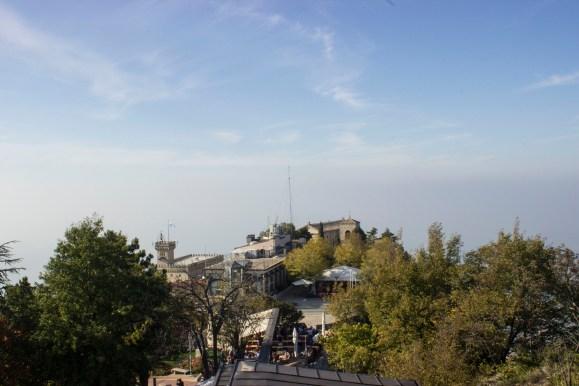 San Marino tepeden