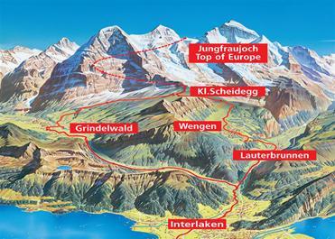 Jungfraujoch pass