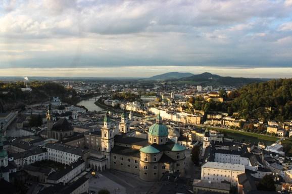 Salzburg panoramik