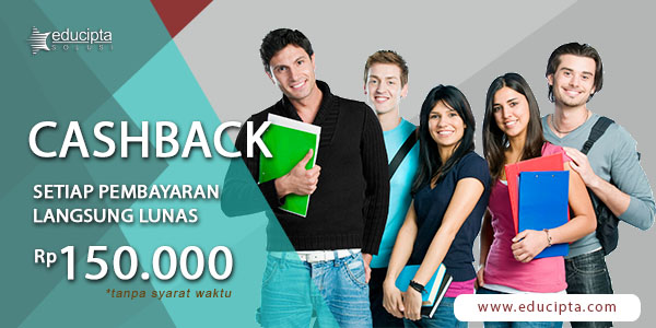 Banner Promo Cashback Kursus Pajak dan Pelatihan Rp 200.000