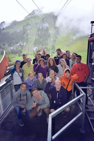 bungee jumping grup fotosu