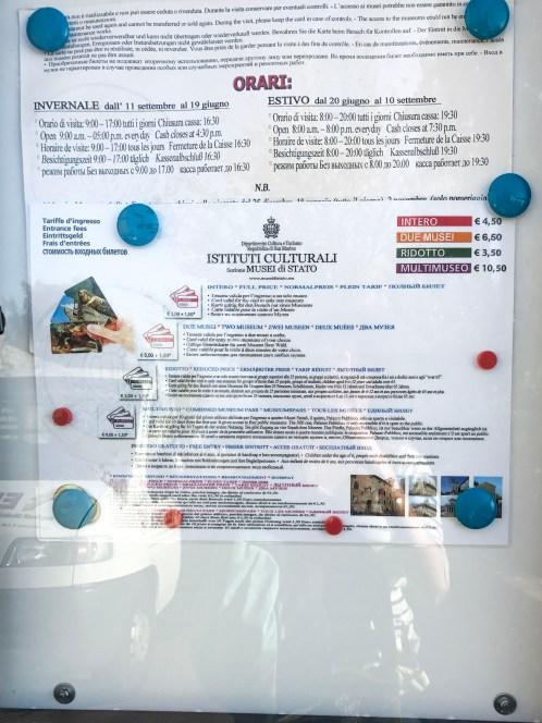 San Marino müze biletleri