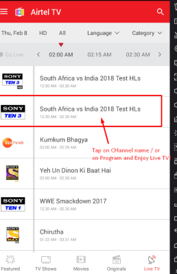 Working] Dowload Airtel TV for PC / Laptop to Watch Live TV