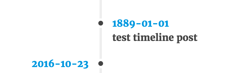 Shortcode result (frontend)