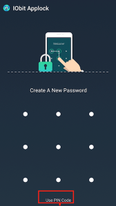Set up a Default Pattern Password or Pin