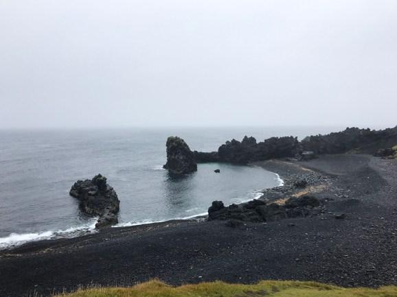 Djupalonssandur sahili
