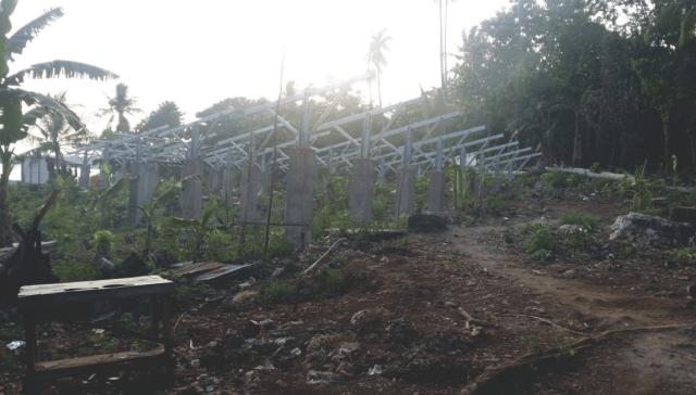lahan panel surya