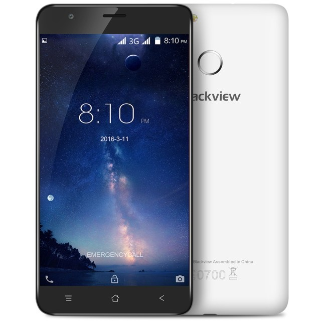 "Blackview E7S Android 6.0 5.5"" 3G Mobile Phone MTK6580 Quad Core Fingerprint GPS"
