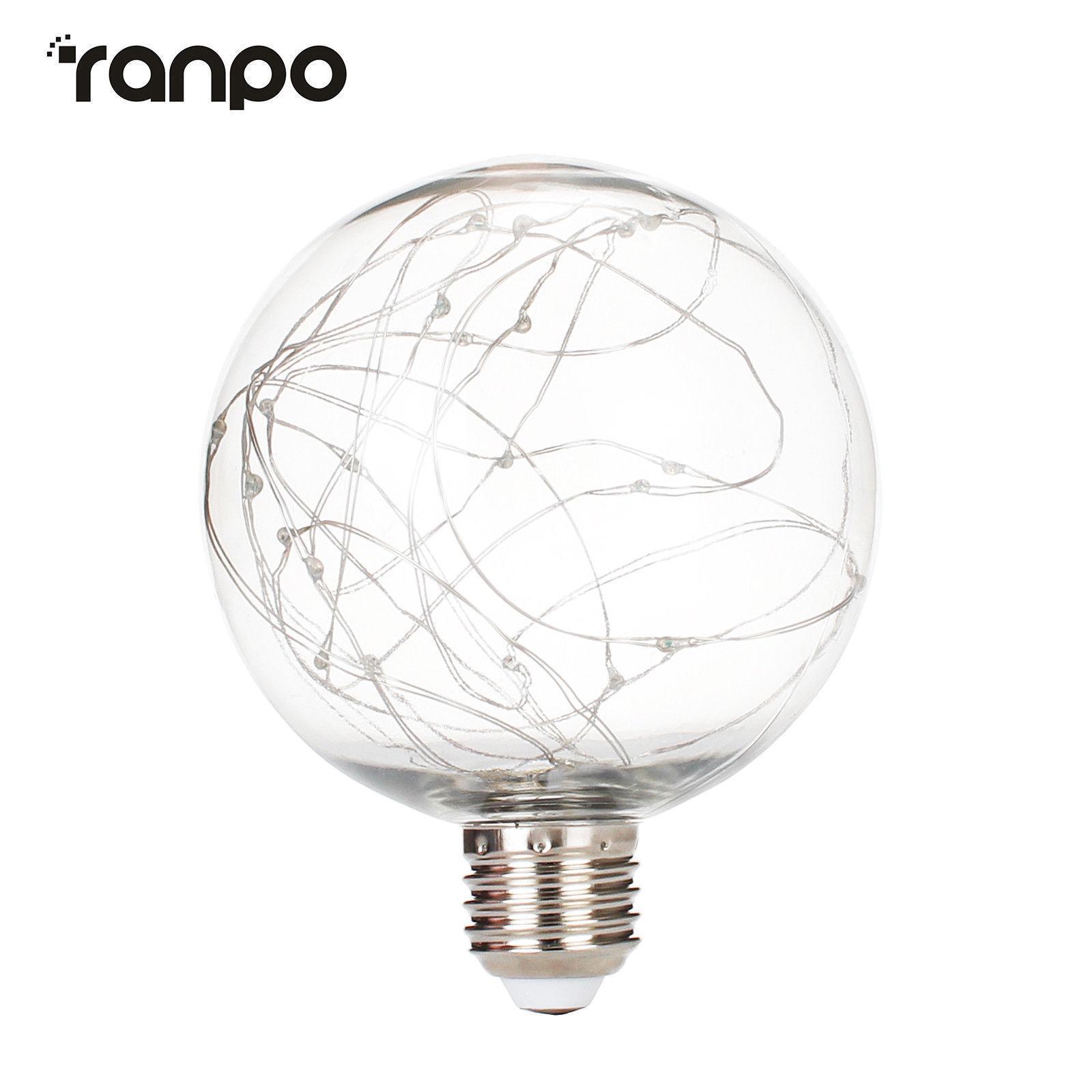 G95 Led Light Bulbs Edison E27 Starry Fairy String Xmas