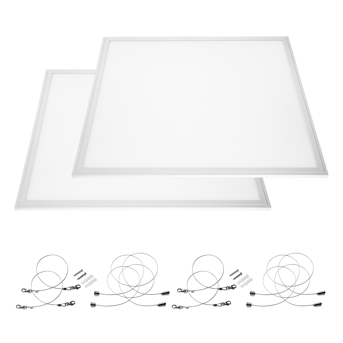 2x 36w Led Recessed Light Panel Ceiling Down Light Ultra