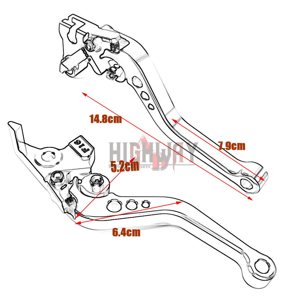 Motorcycle Cnc Short Brake Clutch Levers For Bmw F800gt
