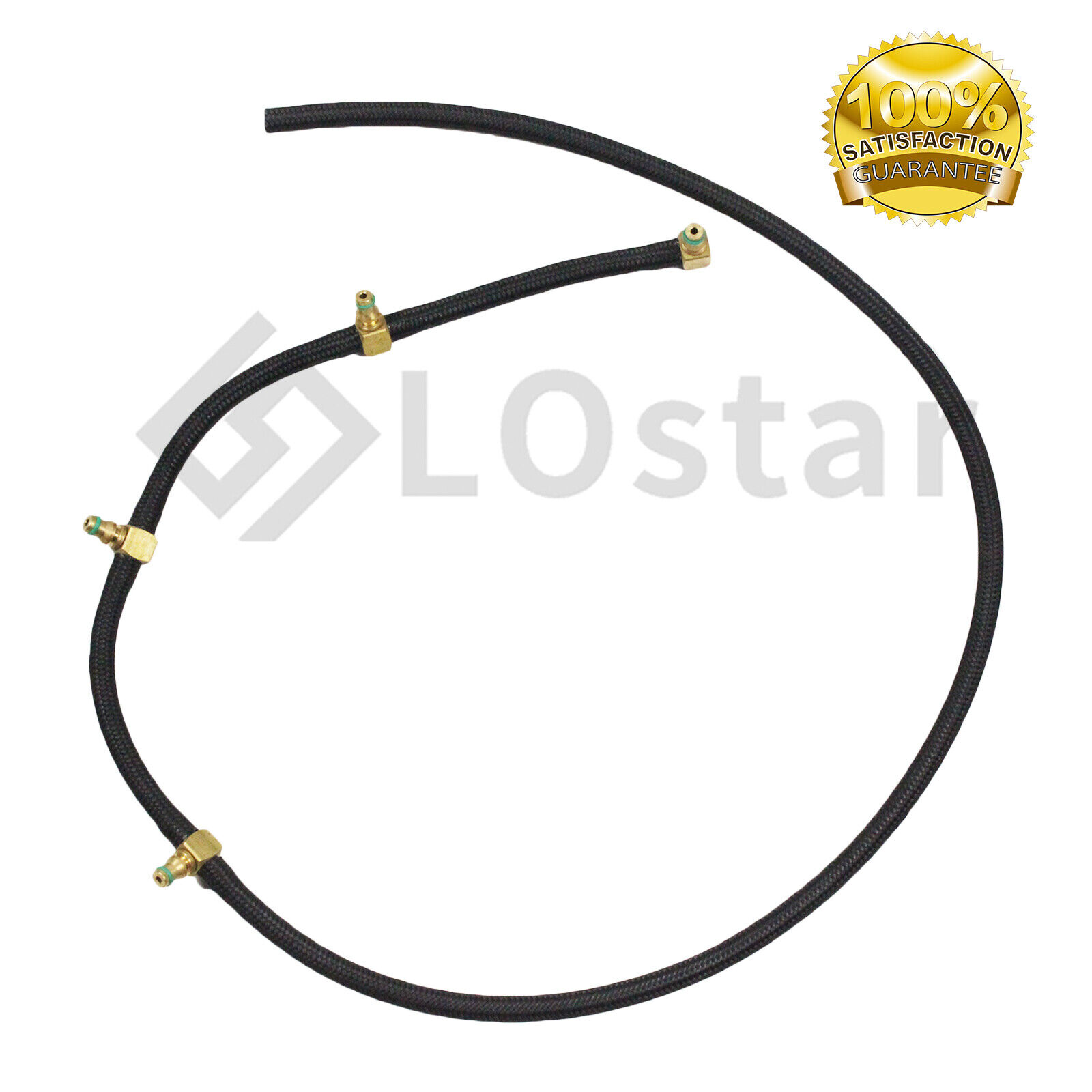 Sel Injector Fuel Line Overflow Hose Mercedes 4 Cyl