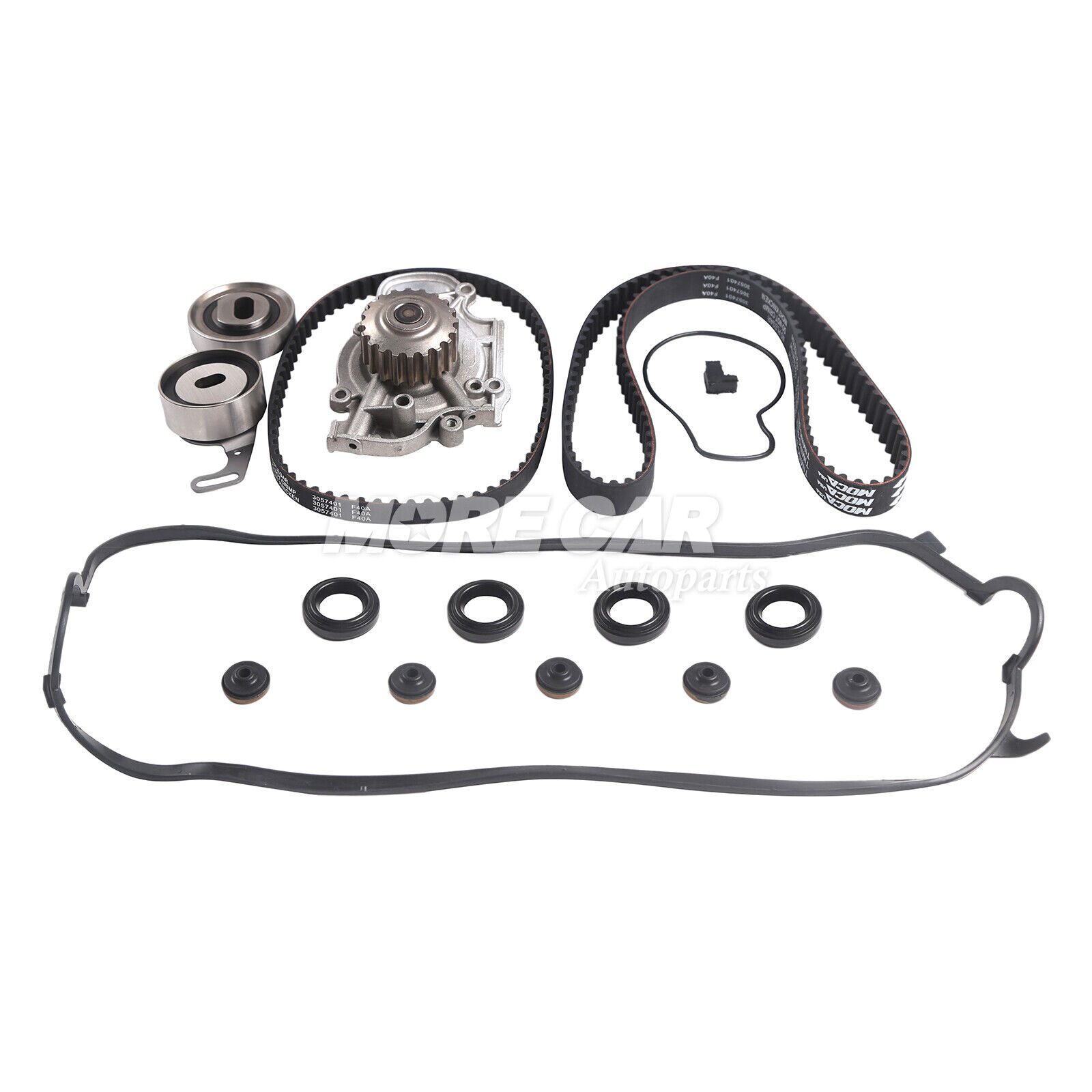 Timing Belt Kit Water Pump Valve Cover Fit 94 02 Honda