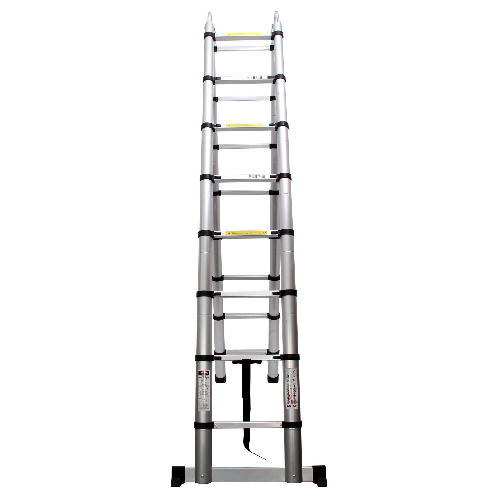 5m Multi Purpose Aluminum Telescopic Roof Ladder Extension