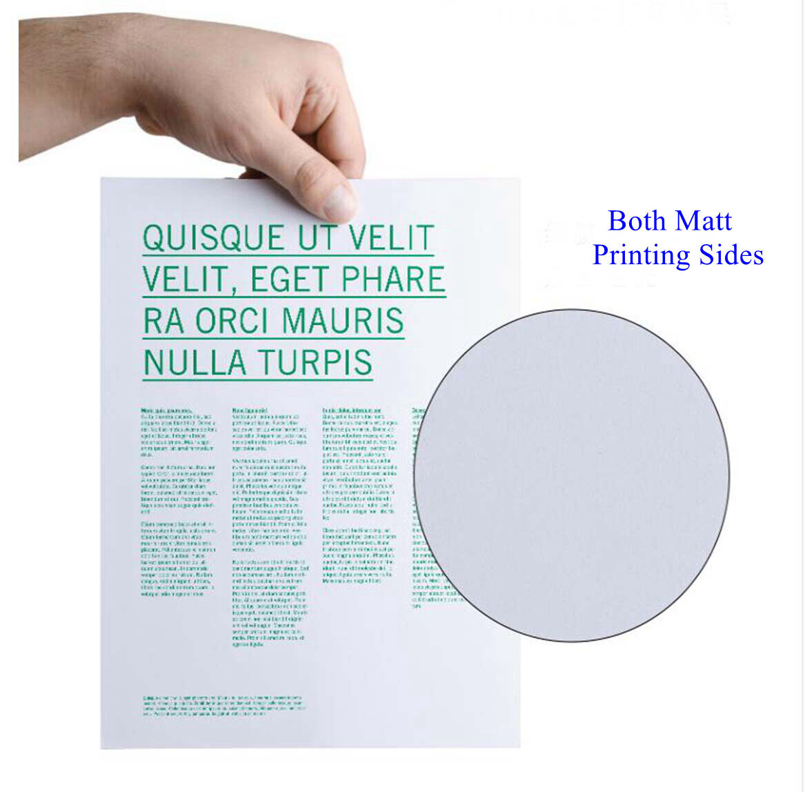 Double Sided Matt Photo Paper A4 Inkjet Paper 140gsm