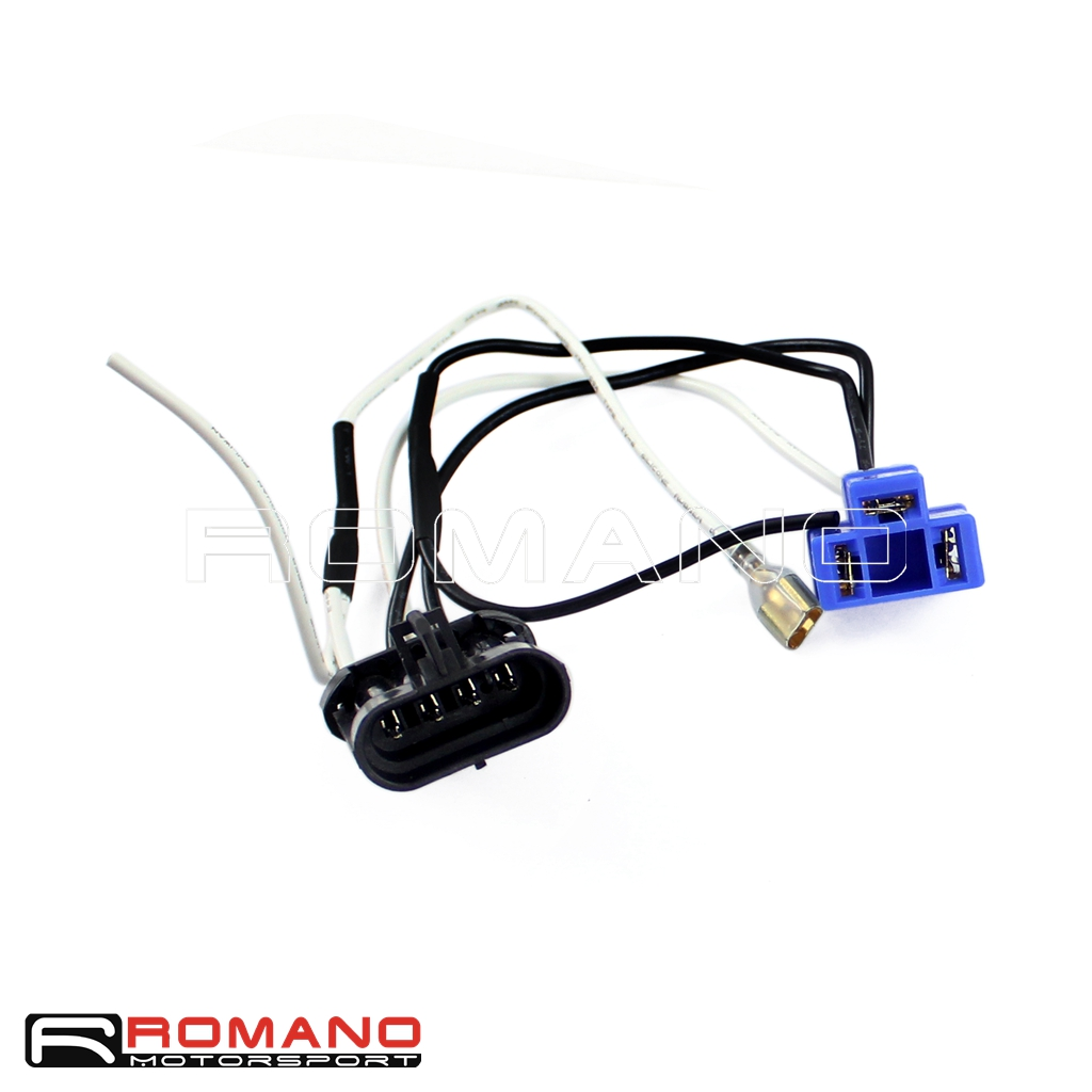 Motorcycle Led Headlight Wire Harness Adapter For Harley