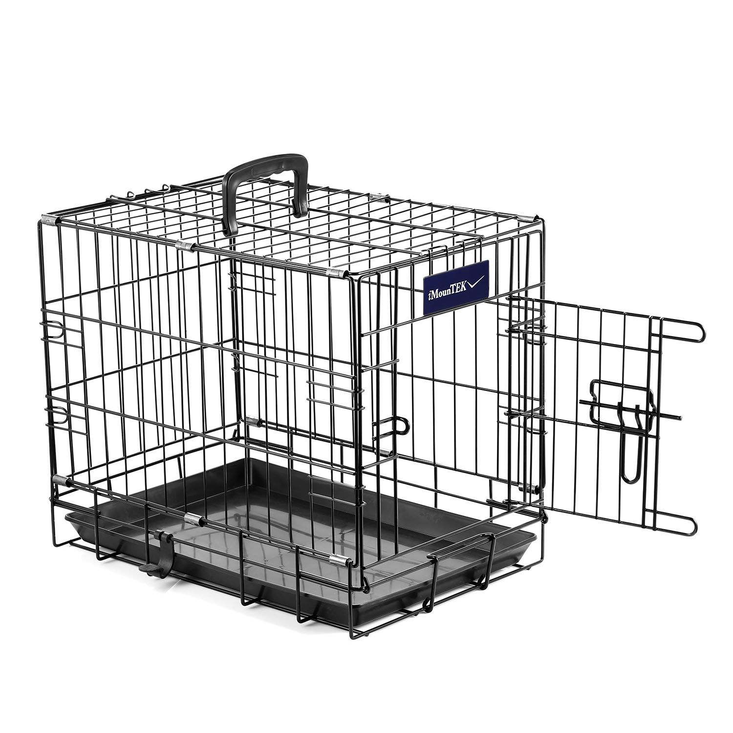 Pet Cage 18 Inch Dog Cat Animal Crate Home Folding Metal 2