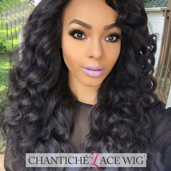 details about curly human hair wigs 8a peruvian remy lace front wigs silk top deep parting wig