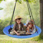 Flying Saucer Tree Swing Children Outdoor Hammock Yard Playground Swing 6 Ages Ebay