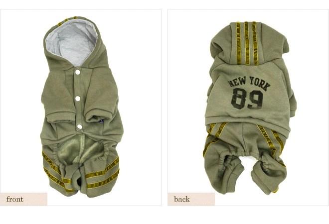 dobazのドッグウェア☆ スポーツウェア風 カバーオール 【ゆうパケット対応商品】【早割10%OFF】