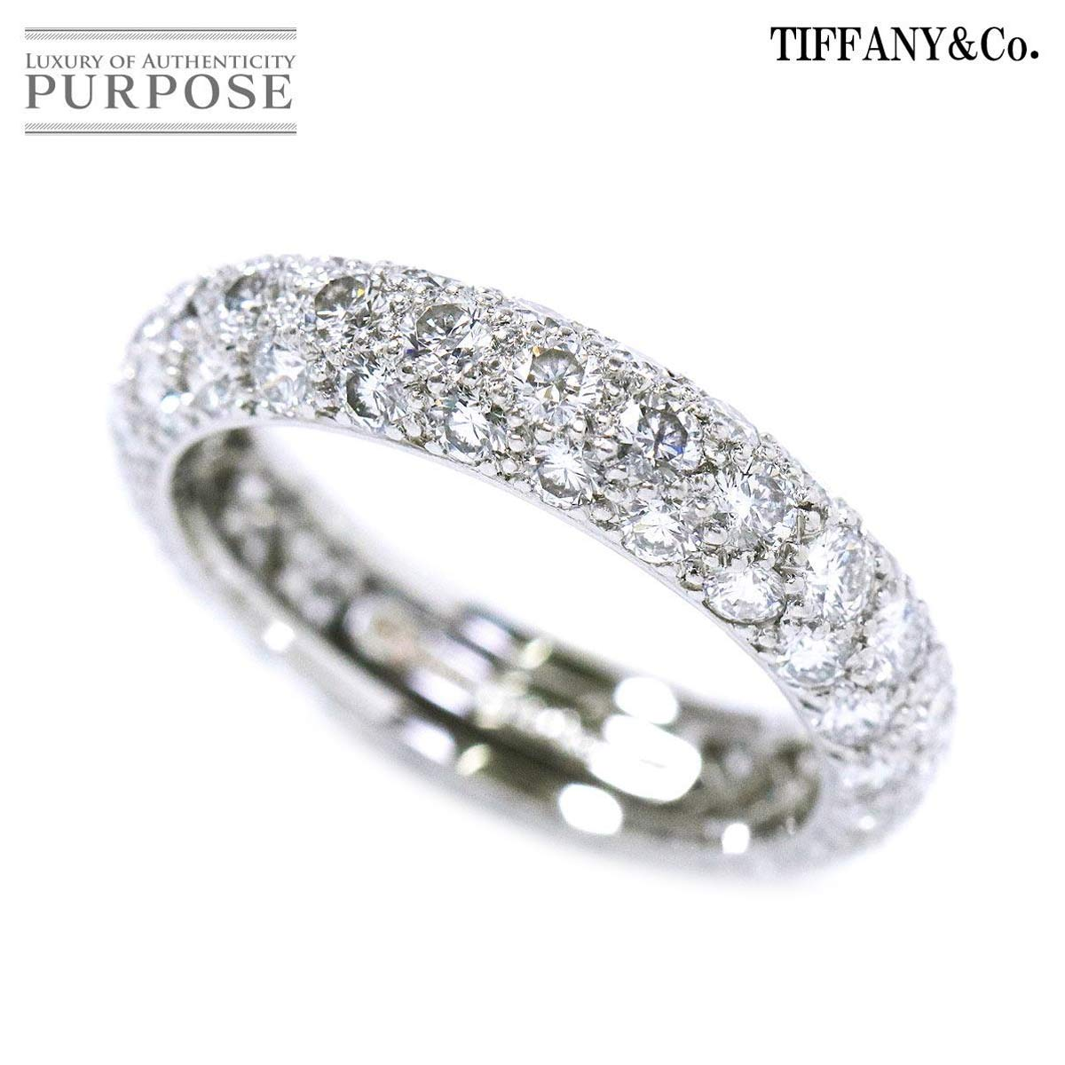 Purpose Inc 6 Ring Pt950 Platinum