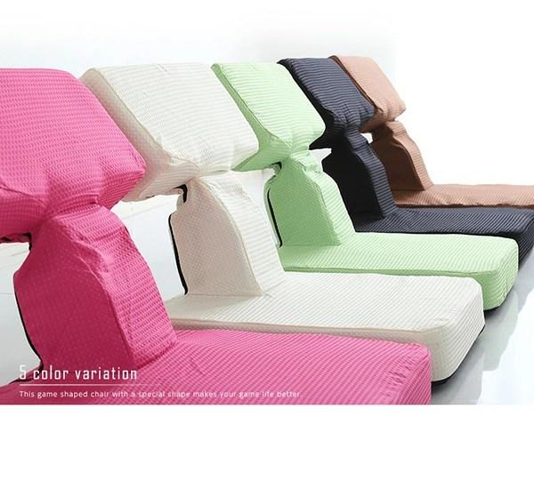 本格ゲーム座椅子(布地)6段階リクライニング【Recon】レコン