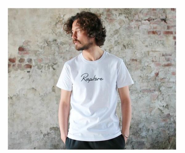 Tシャツ メンズ「Rapture」ホワイト