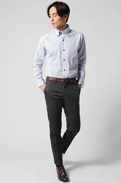 デュエボットーニシャツのコーデ