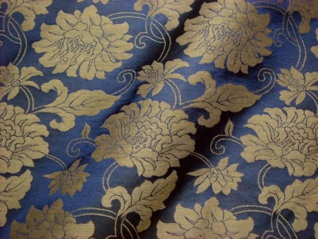 TOKOUAN: 闊嘴猴睡衣 05P04Jul15 織錦緞緞織錦的牡丹花紋緞綾 (日本日本圖案面料日本模式日式琢磨)   日本樂天市場