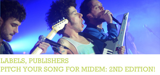 Pitch Your songat midem