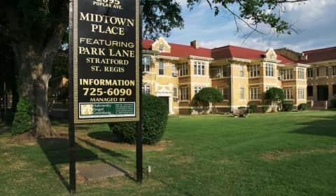 Midtown Place - Poplar Avenue #41A   Memphis, TN ...