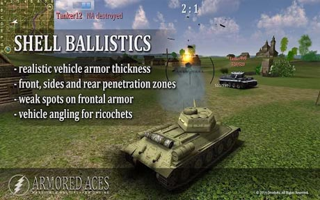 Armored Aces - 3D Tank Battles